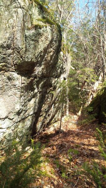 Rock Climbing Photo: The corridor