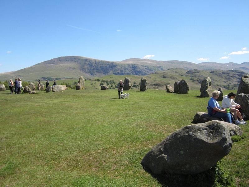 3000 BC stone Circle .. Near Keswick