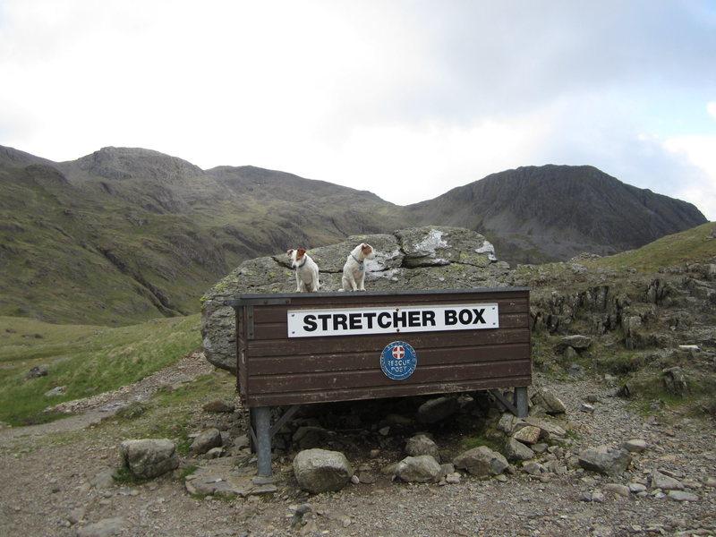 Mt Rescue Box Styhead Pass