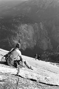 Rock Climbing Photo: Rope gunners scrambling to protect our followers n...