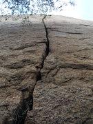 Rock Climbing Photo: Looking up at a Hard Days work.