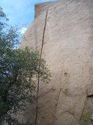Rock Climbing Photo: A little different view.