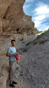 Rock Climbing Photo: At Vasquez Rocks