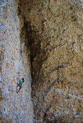 Rock Climbing Photo: Tiff Climbs Dry Times
