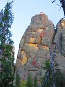 Rock Climbing Photo: As seen from hiking trail