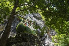 Rock Climbing Photo: Karaweik marking the left end of Karaweik Wall