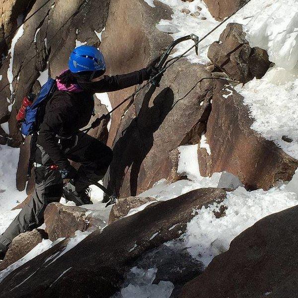 mixed climbing Silver Plume