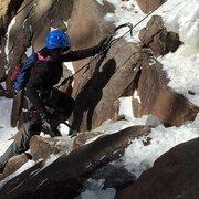 Rock Climbing Photo: mixed climbing Silver Plume