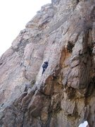 Rock Climbing Photo: My favorite route on Canal Wall in Clear Creek; Ma...