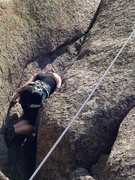 Rock Climbing Photo: How about a little off width? Vedauwoo, Wyoming
