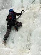 Rock Climbing Photo: Silver Plume waterfall, great ice!