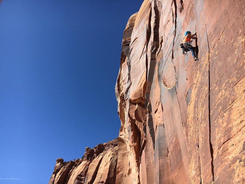Rock Climbing Photo: Cruising in the creek