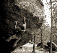 Rock Climbing Photo: Afrika Bambatta V12 Elkland