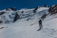 Rock Climbing Photo: Looking back at Mt. Olympus