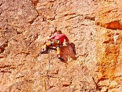 Rock Climbing Photo: shelf