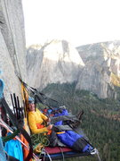 Rock Climbing Photo: looking out at the Cathedrals