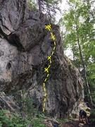 Rock Climbing Photo: Sat Nam Topo//Post Cleaning(Gardening)