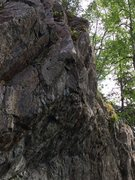 Rock Climbing Photo: Sat Nam Upper.