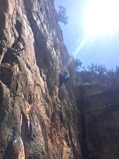 Rock Climbing Photo: Jack's Canyon, AZ