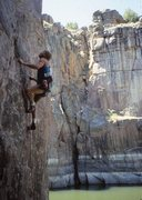 Rock Climbing Photo: Greystoked   Photo by Frosty Weller. '87