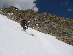 Crooked Couloir; Mt. Audubon Photo by Rick Accomazzo