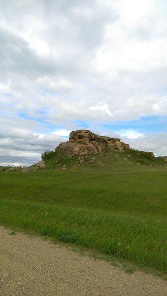 "North Boulders ""skull pile"""
