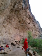 Rock Climbing Photo: Big horn wall