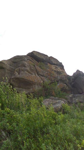 Rock Climbing Photo: Boulder view