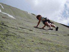Rock Climbing Photo: 3) S Matz on P1