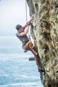 """Rock Climbing Photo: Third Top Rope Ascent of the now classic """"Pan..."""