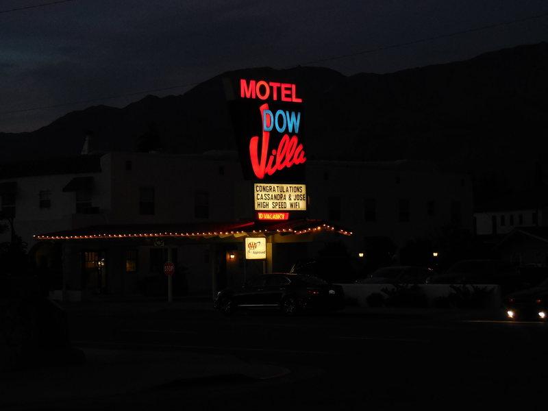 Dow Motel, Lone Pine, CA