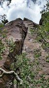 Rock Climbing Photo: The whole corner system