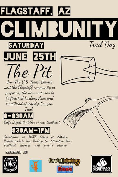 Flagstaff Climbunity Trail Day