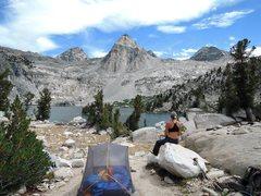 Rock Climbing Photo: Rae Lakes