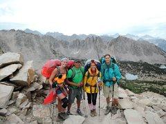 Rock Climbing Photo: Kearsarge Pass