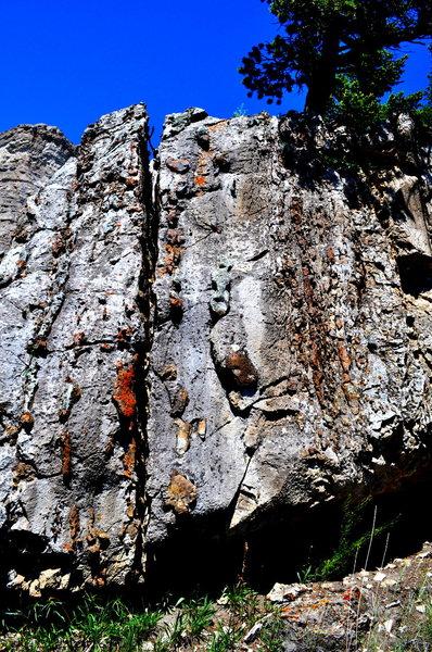 Limestone and chert
