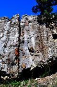 Rock Climbing Photo: Limestone and chert