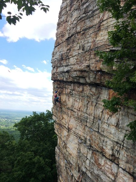 Rock Climbing Photo: Thanks to the kind stranger who took this pic of m...