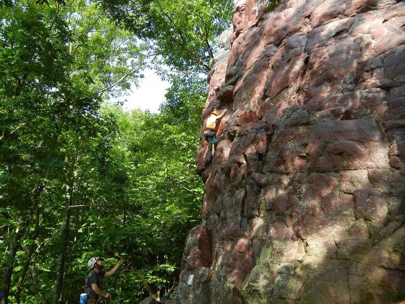 Fantastic route for the new climbers