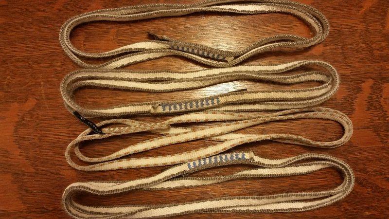 Four standard length slings