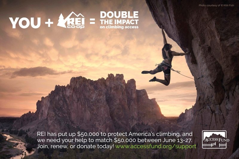 Rock Climbing Photo: Access Fund + REI