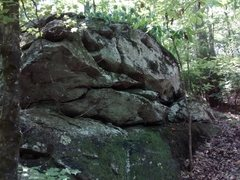 Rock Climbing Photo: Panola Boulders