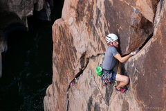Rock Climbing Photo: Michal gets revenge on Wine & Roses. Check out our...