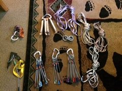 Rock Climbing Photo: gear for sale