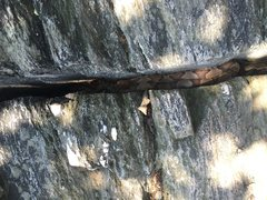 Rock Climbing Photo: Copperhead at Carderock, MD