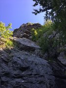 Rock Climbing Photo: The base of Indian Head and Death Don't Have N...