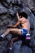 Rock Climbing Photo: The late Christian Peake crankin' like a disea...