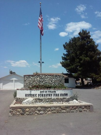 Historic Forestry Fire Station, Yucaipa