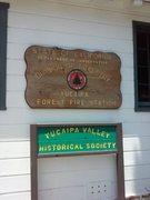 Rock Climbing Photo: Historic Forestry Fire Station, Yucaipa