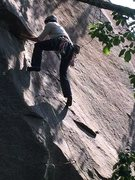 Rock Climbing Photo: getting served up a sweet bowl of sweet shredded w...